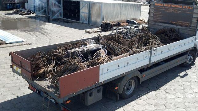 Strzemiona zbrojenia stal z dostawą - producent KRÓTKI CZAS REALIZACJI