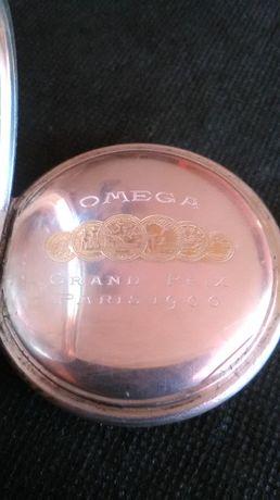 Zegarek kieszonkowy srebro 800 antyk Omega z 1900 r.