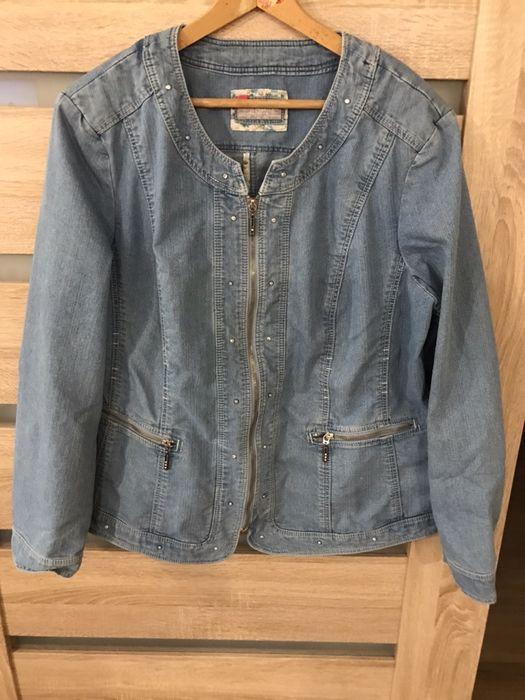 Kurtka wiosenna jeans Canada r. XXL Ustka - image 1