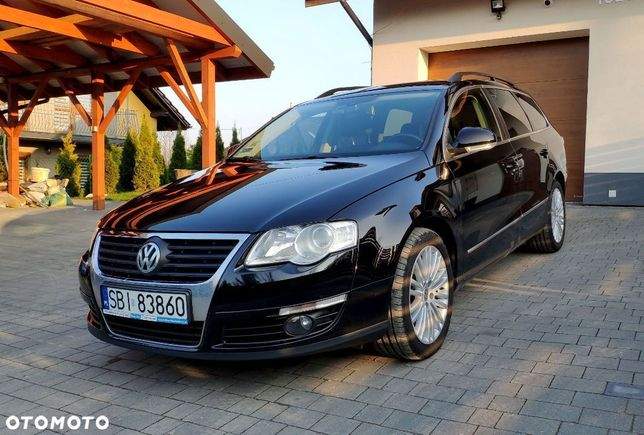 Volkswagen Passat B6 2.0 TDI CR, FVAT23%, serwis ASO, skóra, Ambient Light, chip 185KM