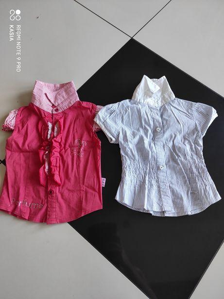Zestaw 2 eleganckich bluzek r92/98