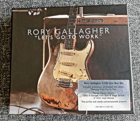 Caixa Rory Galagher 4cd Top nova