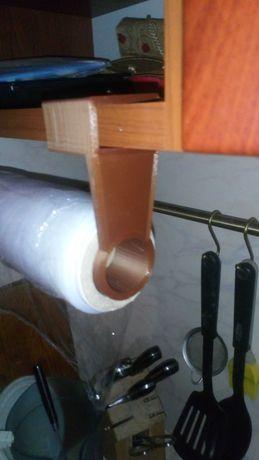 Держатель  (диспенсер) для рулонов, бумажных полотенец и др.