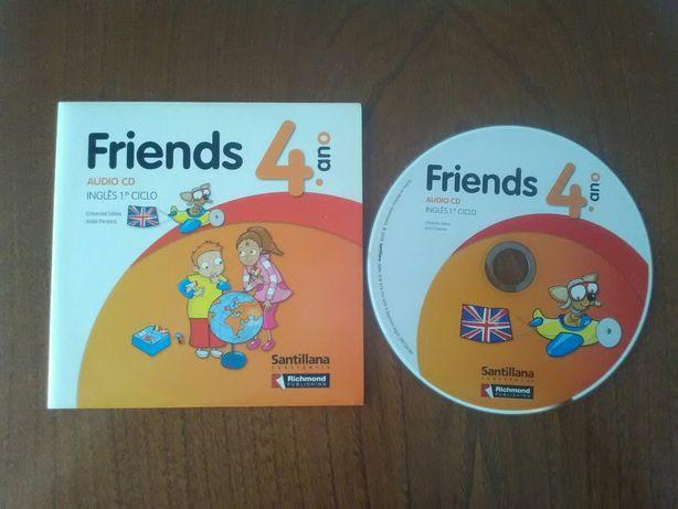 Audio CD Inglês 4°ano