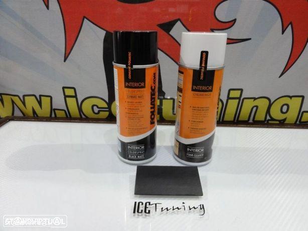 Spray de reparação, pintura + spray limpeza Preto Mt de volantes e interiores