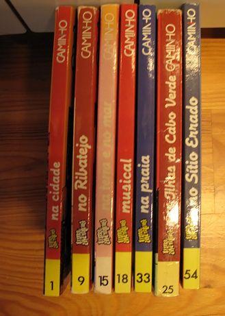 Livros colecção Uma aventura
