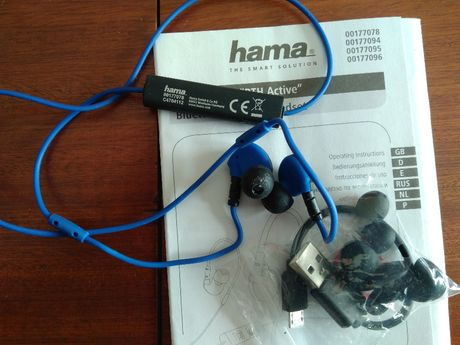 Auriculares Bluetooth c/ Microfone (in ear) - Hama