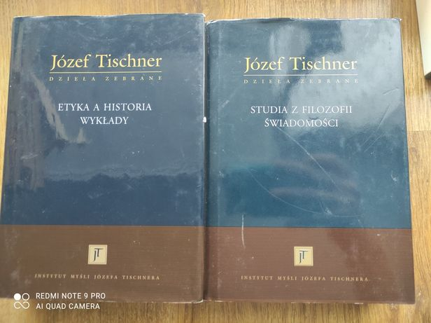 Józef Tischner, Etyka i historia wykłady, Studia z filozofii świadomoś