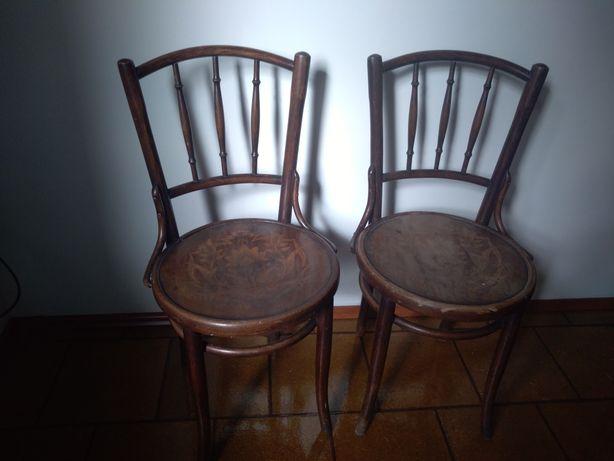 Krzesła gięte antyki