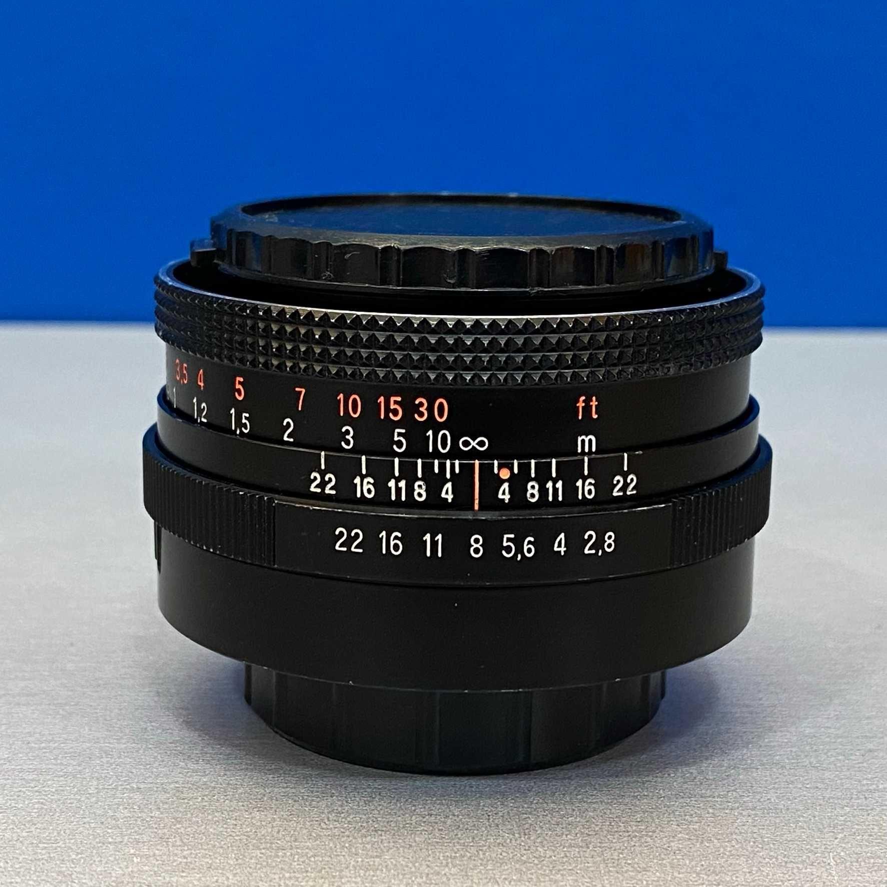 Carl Zeiss Jena DDR Tessar 50mm f/2.8 -M42 (Adapt.Sony/Fuji/MFT/EOS R)
