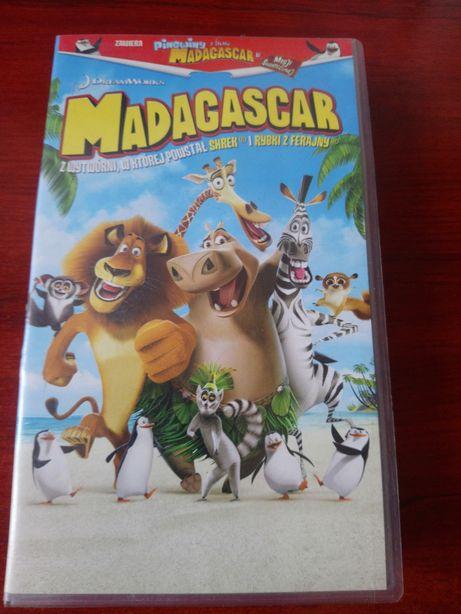 Madagaskar kaseta VHS