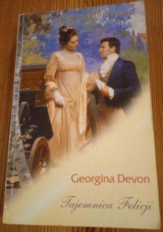 Książka Georgina Devon - Tajemnica Felicji + 2 inne książki