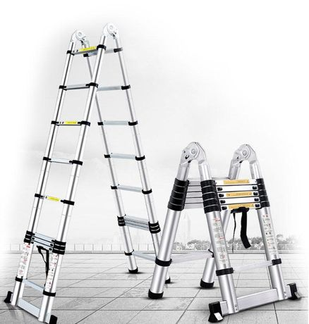 Лестница телескопическая раскладная Stanley INTERTOOL LT -3032 3.2м