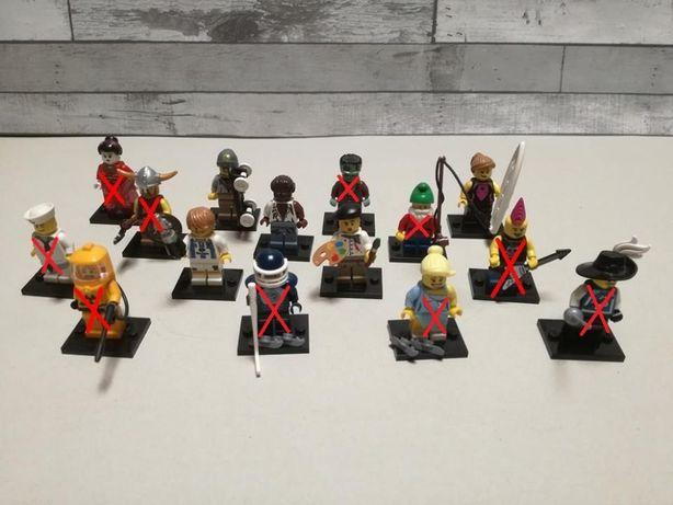Lego minifigures seria 4
