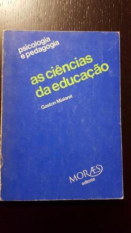 5 livros da área das ciências pedagógicas - portes incluídos