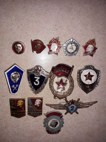 Значки СССР разные