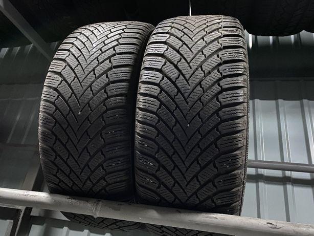 зима 225\45\R17 2016г 7,1мм Continental Winter TS 860 2шт шины