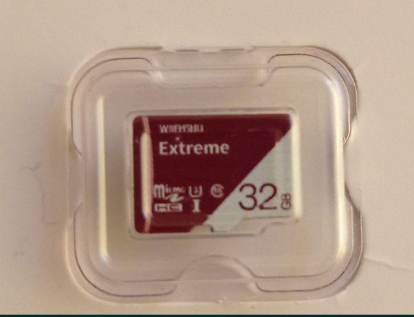 Карти пам'яті 32 і 16 гігабайт мікро сд