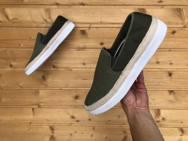 45р Оригинальные кроссовки слипоны эспаньолы UnBias / Guess Tommy Nike