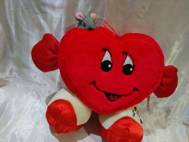 Мягкая игрушка Сердце на подарок