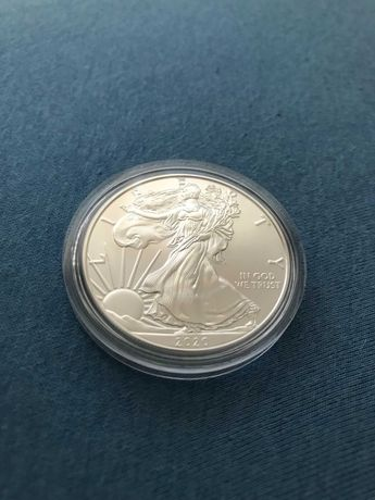 Srebrna moneta American Eagle - One Dollar 2020 Liberty - Ag 999 - 1OZ