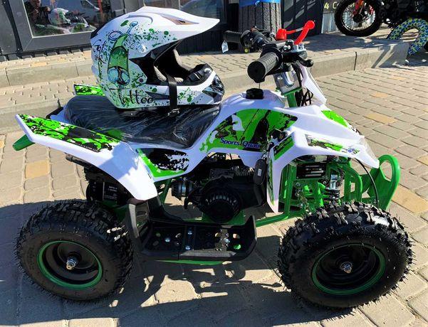 Бензиновый новый детский квадроцикл 65 куб