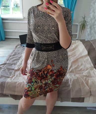 Женское платье миди, размер L-XL