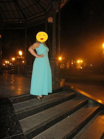 Платье сарафан в пол OLKO