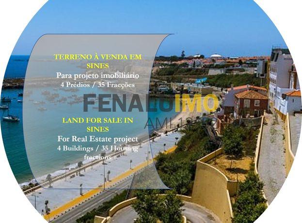 Investimento - Terreno Para Construção - Apartamentos - Sines