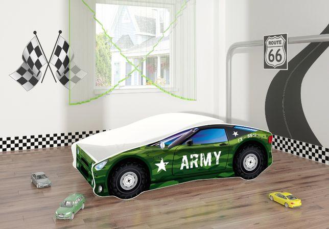 Łóżeczko, łóżko dziecięce car samochód 140x70