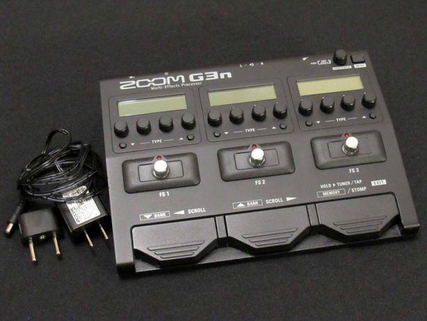 Гитарный процессор Zoom G3n Multi-effects аудио звук
