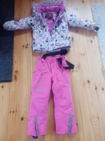 Kurtka narciarska spodnie 122 SMYK