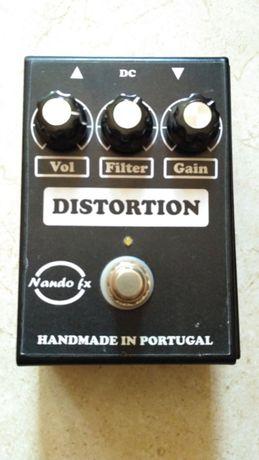 pedal Distorção - Nando FX - replica RAT