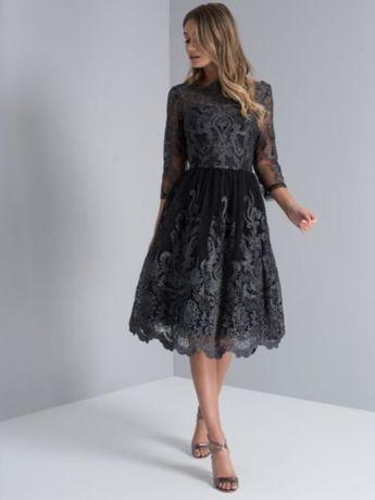 Sukienka wesele impreza 36 koronka CHI CHI LONDON