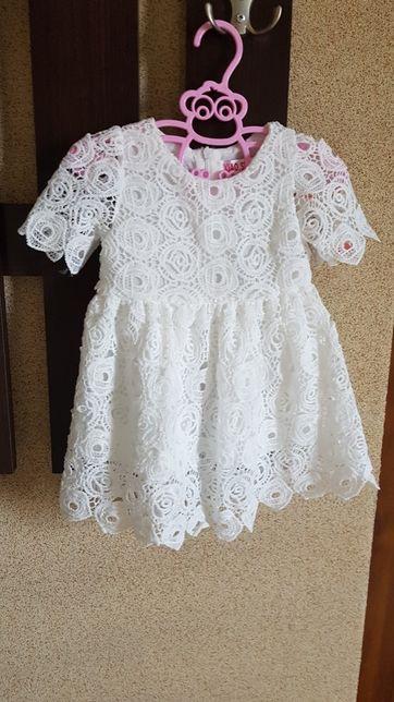 sukienka do chrztu na 6 miesięcy