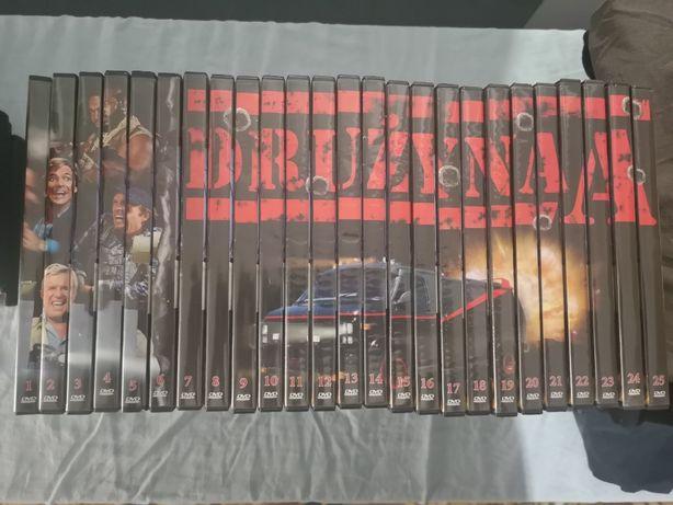 Serial na DVD Drużyna A