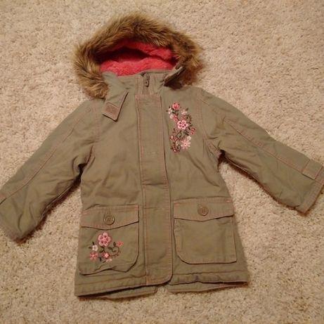 NOWA! przejściowa kurtka dla dziewczynki na misiu rozmiar 80 Cherokee