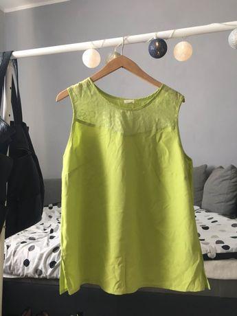 Zielona bluzka limonkowa