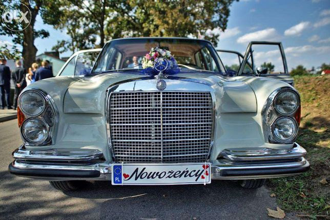 Samochód Auto Limuzyna do Ślubu Zabytkowy Mercedes lata 60 BMW 6