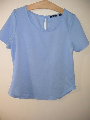 Bluzka damska błękitna M