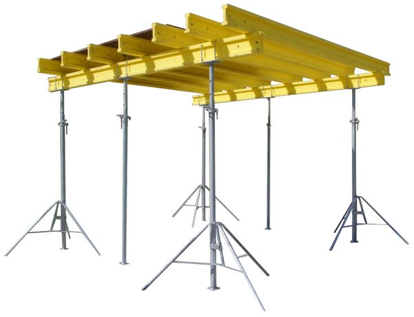 Zestaw Szalunki stropowe 80m2 dźwigary podpory głowice sklejki