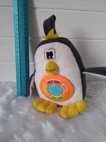 Развивающая игрушка музыкальный пингвин Carousel