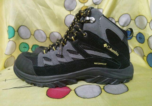 Оригинал новые осенние ботинки (кроссовки) Columbia WATERPROOF
