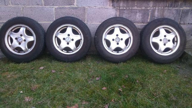 Koła letnie aluminiowe, felgi z oponami 165/70/13 4x100, Opel,VW,Seat