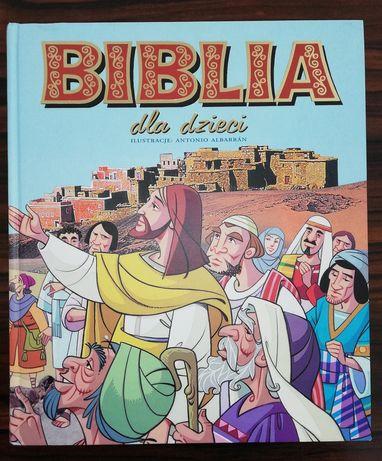 Biblia dla dzieci - ilustrowana, bardzo kolorowa-obrazki i zdjęcia.