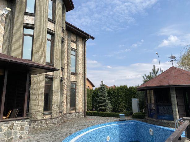 АРЕНДА шикарного дома в Киеве 340 м2, коттеджный городок «Деснянский»