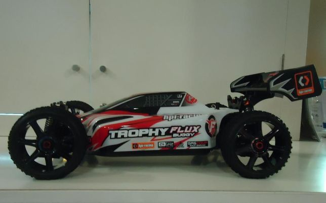 Carro RC HPI Trophy Flux Buggy 4WD 14.8V Lipo 2.4Ghz - Novo na caixa