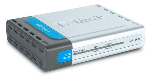 Маршрутизатор D-Link ADSL DSL-500T