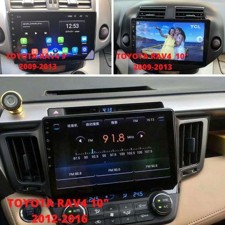 Штатные магнитолы для Toyota Rav4 с 2001 по 2016 год на android