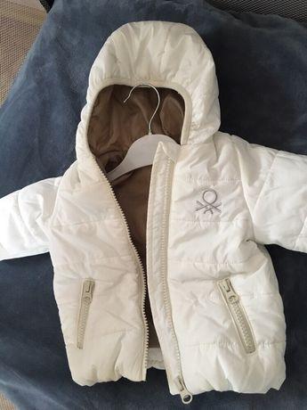 Куртка -пуховик Benetton baby 3-6 mes
